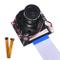 kuman Raspberry Pi 4B 3 B + Modulo Fotocamera, 1080p HD 5MP Webcam OV5647 Sensore IR-Cut C...
