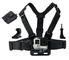LONDON FAB Imbracatura Action Camera, Compatibile con GoPro e Tutte Le Action Cam (Imbraca...