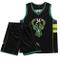 SXXRZA Divisa da Basket Lettera 34, Milwaukee Bucks Maglia da Ricamo Yannis Adeto Kunbo, N...