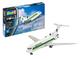 Revell - Modellino Aereo passeggeri Boeing 727-100 Germania, Scala 1:144, Livello di diffi...