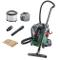 Bosch Home and Garden UniversalVac Aspiratore Compatto, 15/8.5 Litri, 1000 Watt, Verde