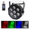 UKng Luci da DJ LED Par DMX Luci da Palco 7Leds RGBW Faretto Effetto Luce con Telecomando...