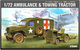 Academy 1:72 - WWII US Ambulance & Towing Tractor (ACA13403)