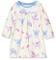 Hatley Long Sleeve Nighties Camicia da Notte, Bianco (Mystic Unicorns 100), 2 Anni Bambina