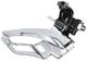 Shimano FD–4703 Tiagra, Deragliatore Tripla, Nero