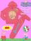 Peppapig felpa con zip e pantalone tuta rosa peppapig bambini abbigliamento