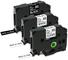 Nastro Etichette Invoker Compatibile In sostituzione di Brother P-touch TZe-131 TZe-231 TZ...