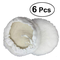 OUNONA - cuffie per lucidatrice in lana, 180 mm, confezione da 6