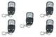 System Eng Tel5pezzi Telecomando per Cancello Automatico Universale, 433,92 MHZ, FAAC, BFT...