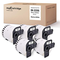 5 Mycartridge DK-22205 DK22205 etichette continue compatibili per Brother P-Touch QL1050 Q...