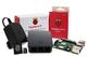 Ucreate Raspberry Pi 3Model B + desktop starter kit (16GB, Nero), processore quad core a...