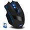 DLAND Zelota professionale LED ottico 2500 dpi 9 pulsanti USB 2.4G Wireless Gaming Mouse p...