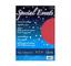 Carta Special Event Favini Metallizzata Rosso A4 250 gr. 10 fogli