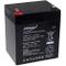 Batteria al Gel di piombo Powery per:APC Back-UPS BF350-RS 5Ah 12V