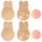 Voqeen Nipple Cover Copricapezzoli Di Silicone Riutilizzabile Adesivi Push Up Breast Lift...