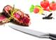 Coltello da cucina lungo 20 cm con lama affilata, coltello da cucina con impugnatura ergon...