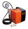 Black+Decker 8215340BND701 Compressore d'Aria, 230 V, Nero/Arancione, BD 195 CUBO