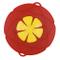 Lyff, coperchio anti-schizzi in silicone, copertura universale per ciotole Red