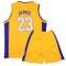 Sokaly Ragazzi Ragazze Chicago Bulls Jorden # 23 James#23 Boston Pantaloncini da Basket Je...