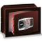 CASSAFORTE A MURO INCASSO TECHNOMAX TM/4L CON COMBINAZIONE DIGITALE 270X390X240MM