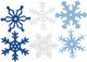 Creative Impressions CI63000 - Fiocchi di Neve in Feltro, Misura Media, 36 per Confezione