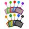 10 Pezzi Porta Badge Retrattile Carta d'Identità per Carte e Chiavi Cinghie Cordini