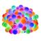 LE 10m LED Tenda Luminosa con Catena di Luci con 100 LED RGB Impermeabile, 8 Modalità di I...