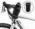 Zealhot - Borsa da bicicletta, impermeabile, per iPhone XS max, Nero