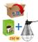 Motisi Riflettore portalampada per Riscaldamento Pulcini, suini + Lampada infrarossi 250 W...