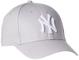 New Era MLB Basic NY Yankees 9Forty - Cappellino regolabile per Bambino (Child), Grigio (G...