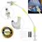 Supporto Universale Baby Monitor, Lega di Alluminio Flessibile 360° 85cm Supporto Baby Mon...