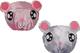 PrettyDate, 2cuffie da doccia impermeabili doppio strato con elastico, per bambini (rosa,...