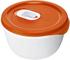 Rotho 1737002792Ciotola per microonde 0,8Litri, plastica, Rosso, 16,5x 9x 19,5cm