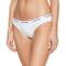 Calvin Klein Carousel Slip Classico, Bianco (White 100), Medium Donna