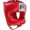 Cleto Reyes free casco da boxe tradizionale a punta in nylon Face bar rosso venduto da Min...