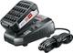 BOSCH 1600A00K1P Starter Kit Batteria al Litio da 18 V + Stazione di Ricarica, 18 W