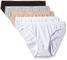 DIM Les Pocket Ecodim Slip X12, Multicolore (Noir/Peau/Blanc/Gris/Blanc), 48 (Pacco da 5)...