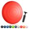 BODYMATE Cuscino propriocettivo Gonfiabile per Equilibrio Comfort Pepper Red comprensivo d...