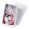 Disney Baby Minnie - Clip Ciuccio, Catenella Portaciuccio con Box in Argento - sfere color...