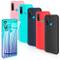 Leathlux 6 × Custodia Huawei P Smart 2020 Cover Silicone, Sottile Morbido TPU Custodie Pro...