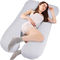Victostar Cuscino per Gravidanza a Forma di U Cuscino per maternità Completo per Donne Inc...