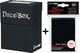 Ultra Pro Deck Box + 60 Small Size Protector Sleeves - Black - Yu-Gi-Oh!