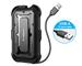ineo Case Esterno per Disco Rigido 2.5'' USB 3.0 con UASP, Case Hard Disk Esterno per 7 e...