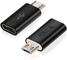 Adattatore USB-C (femmina), ARKTEK Micro USB (maschio) a Tipo C (femmina) Adattatore per S...