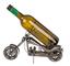 Out of the blue Portabottiglie in Metallo, Moto II, Circa 32 x 22 cm, Ideale Come Decorazi...