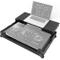 Zomo P-XDJ-RR Plus NSE - Custodia per Pioneer XDJ-RR, con ripiano per laptop