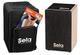 Sela SE 159 IT Primera Black Cajon con Zaino, Pad e Libro per Cajon in Italiano e CD e DVD...