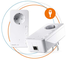 Devolo Magic 2 – kit di Inizio Powerline LAN (2400 Mbps, dLAN, 1 Collegamento LAN Gigabit,...