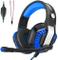 CHEREEKI Cuffie da Gaming,Cuffie da Gioco con Microfono e Illuminazione a LED per PS4, Xbo...