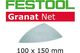 Festool 203326–STF Delta P320gr abrasive net, grigio acciaio, set da 50pezzi